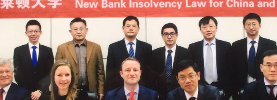Bank Insolvency: China and Europe compared