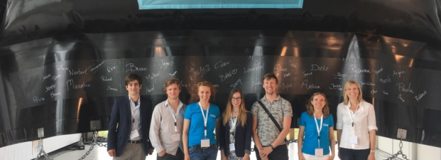Leiden Advocacy Project on Plastic: law students at The Ocean Cleanup